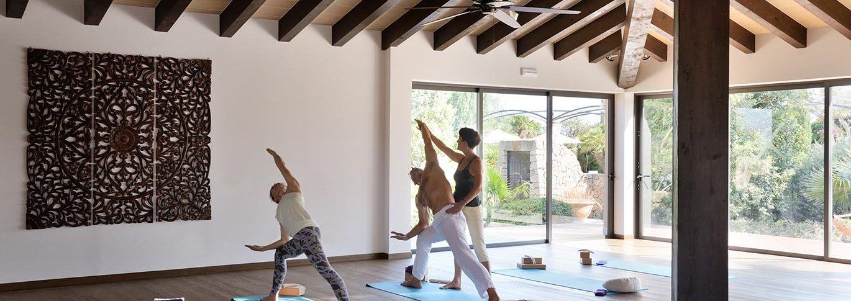 Yoga studio in Mallorca