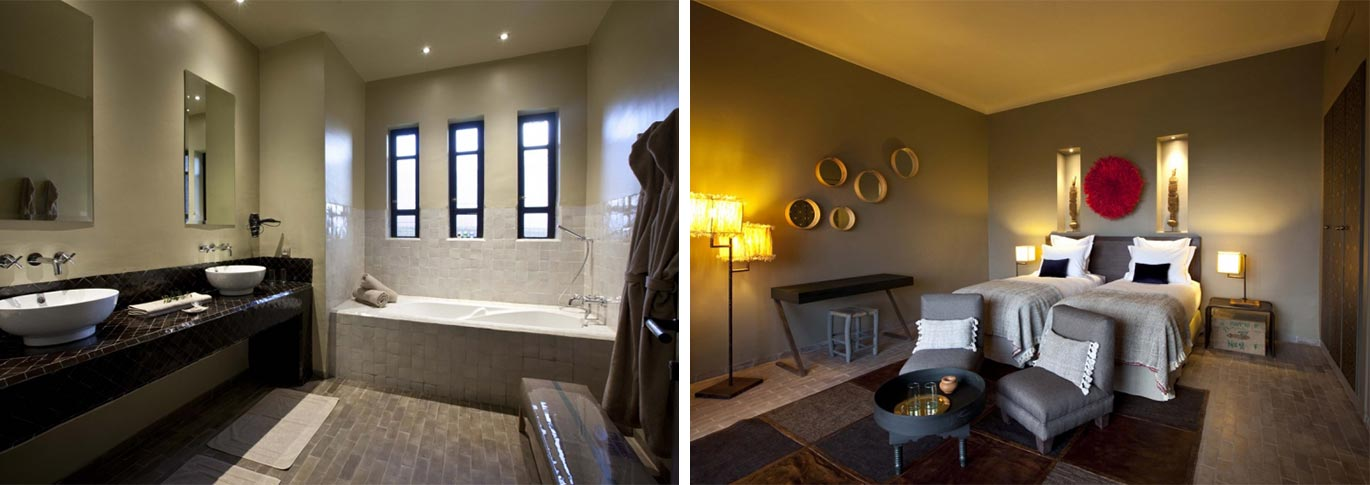 Modern, luxurious rooms and ensuites