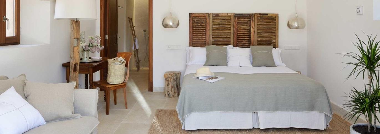 Bedroom in Cal Reiet