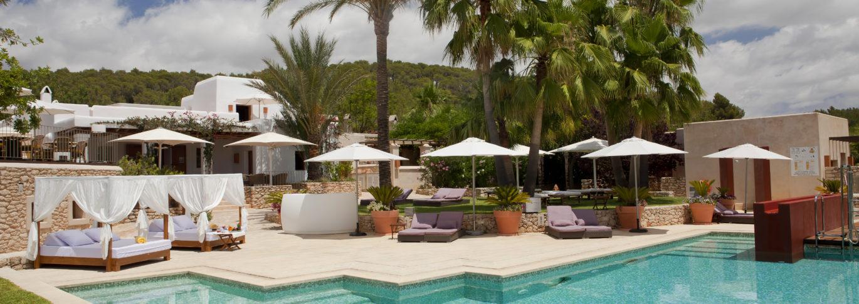 Can Lluc Ibiza pool and terrace