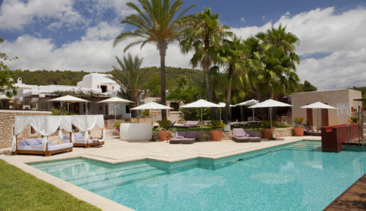 Can Lluc Ibiza pool and terrace