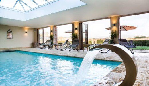 North Cadbury Court swimming pool